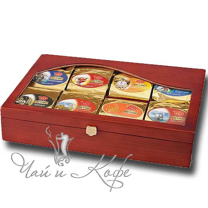 чай в шкатулке подарочный